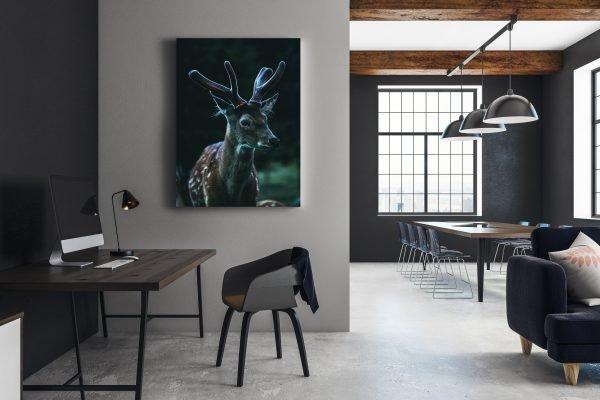 Der Hirsch in Ihrem Haus