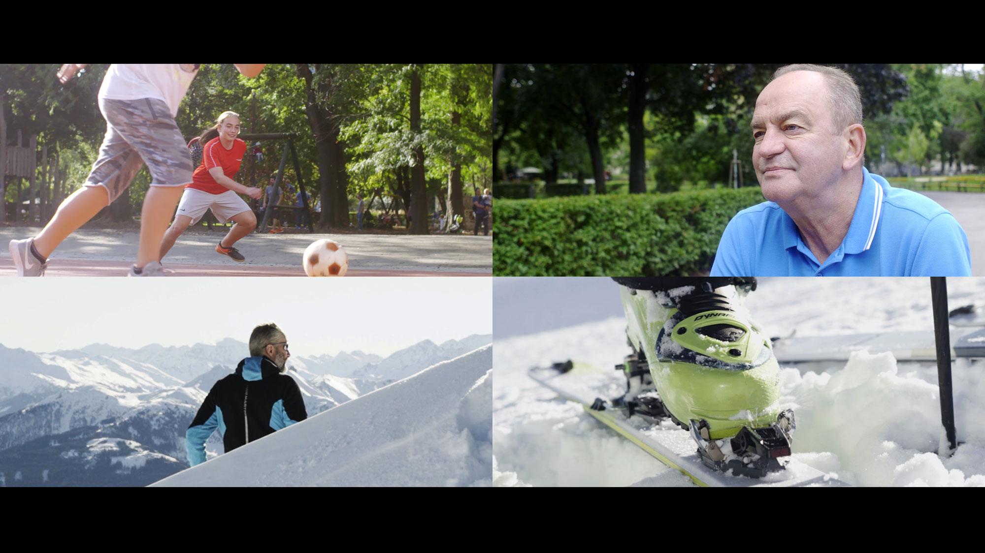 Fußball und Skitouren