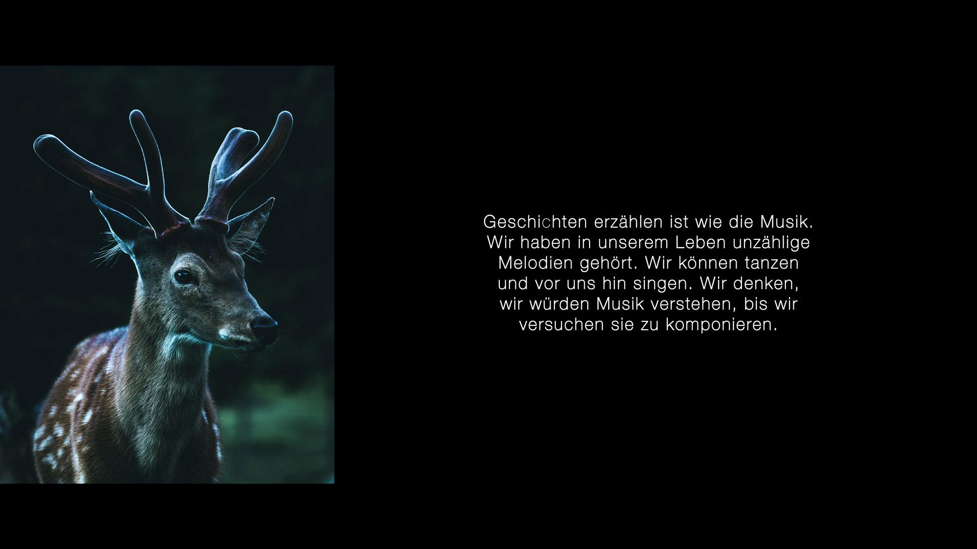 Der Hirsch von Lukas Klima