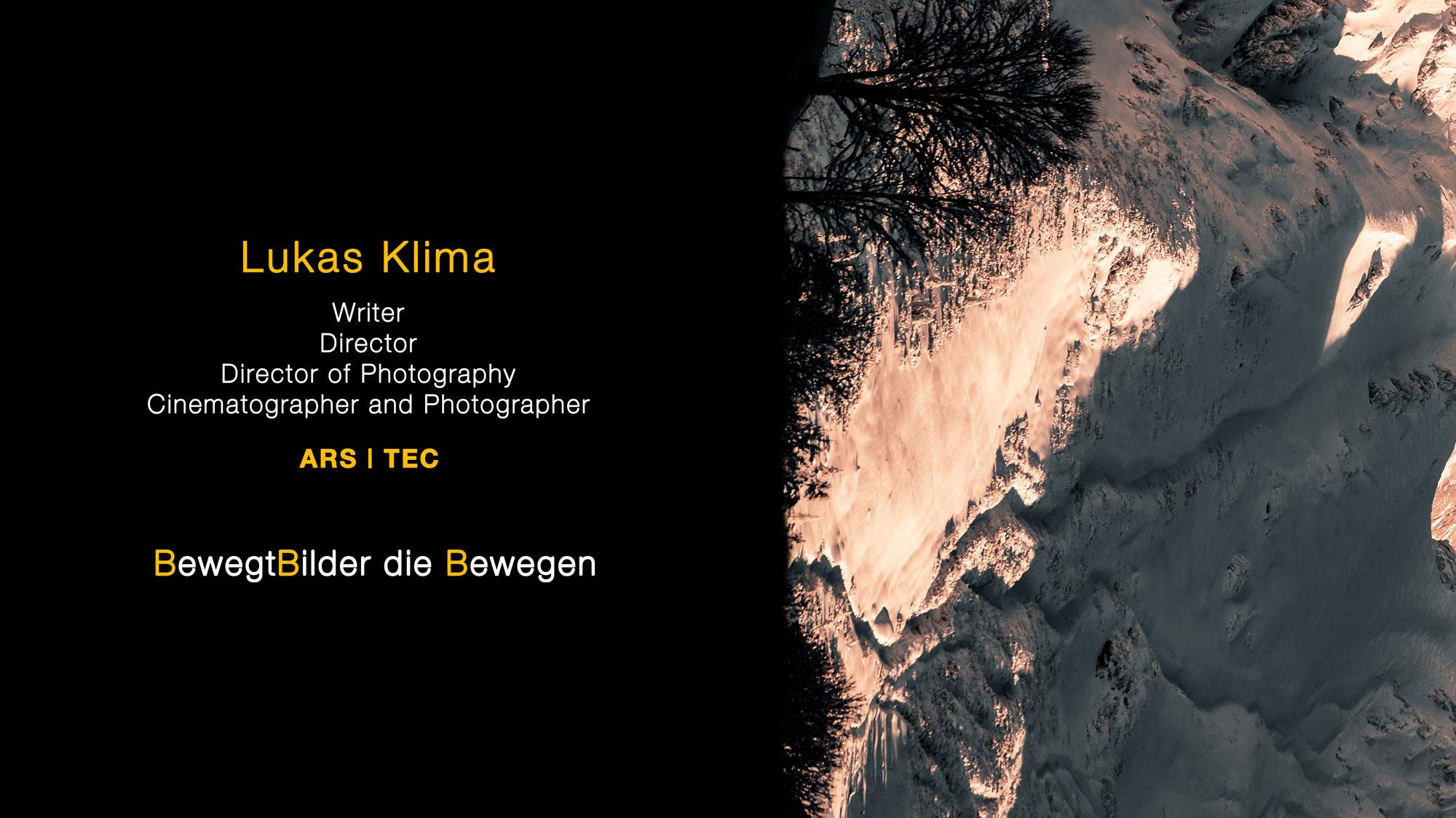 Lukas Klima Portfolio