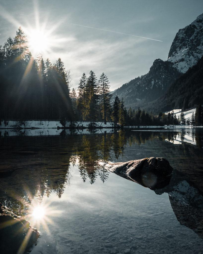 Die Spiegelung von Lukas Klima.