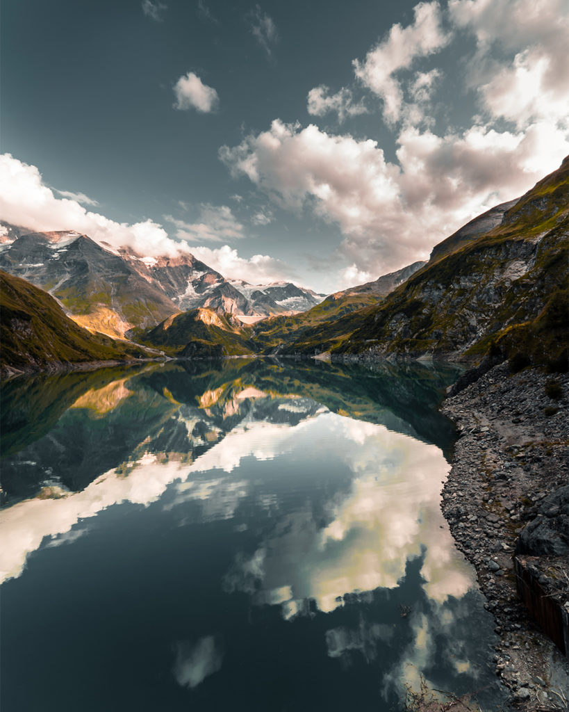 Der Bergsee von Lukas Klima festgehalten und bearbeitet.
