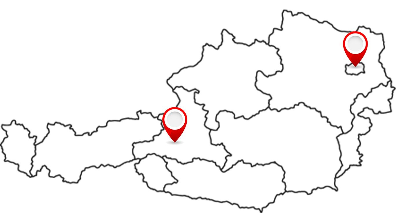 Standorte von Lukas Klima ARS|TEC